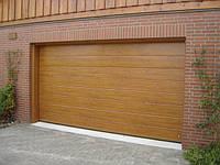 Автоматические секционные ворота Hormann decocolor, 2500х2125мм.L-гофр. панель matt deluxe glatt