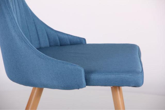 Стул Jasmine каркас бук/ткань цвет сине-серый (фото 7)