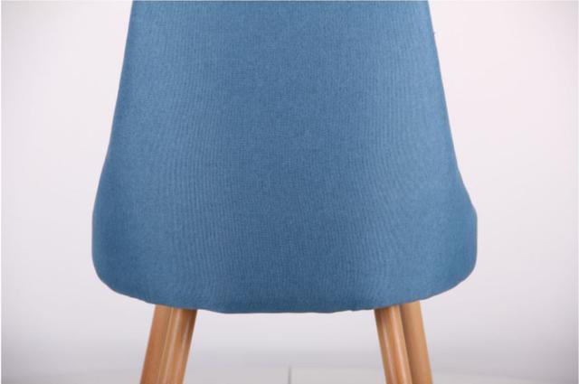 Стул Jasmine каркас бук/ткань цвет сине-серый (фото 8)