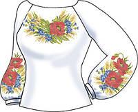 СВЖБ-44. Заготовка Жіноча сорочка лляна біла 771821a5cdf40