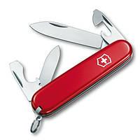 Нож складной Викторинокс Victorinox RECRUIT (10 функций), красный 0.2503, фото 1