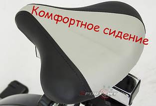 Велотренажер магнитный HITON маховик 9 кг, фото 3