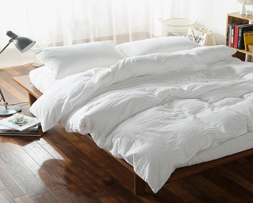 Постельное белье Комплект белья из льна Жемчуг ТМ Комфорт-текстиль (Семейный)