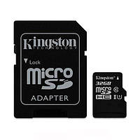 Карта пам'яті MicroSDHC 32Gb class 10 (SD адаптер) Kingston UHS-I R80MB/s (SDCS/32GB) (SDCS/32GB)