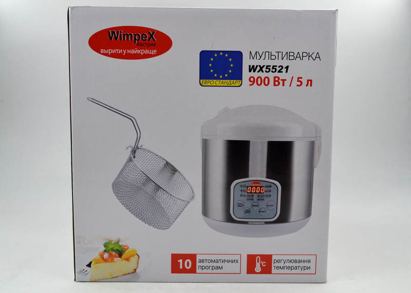Мультиварка WimpeX WX5521