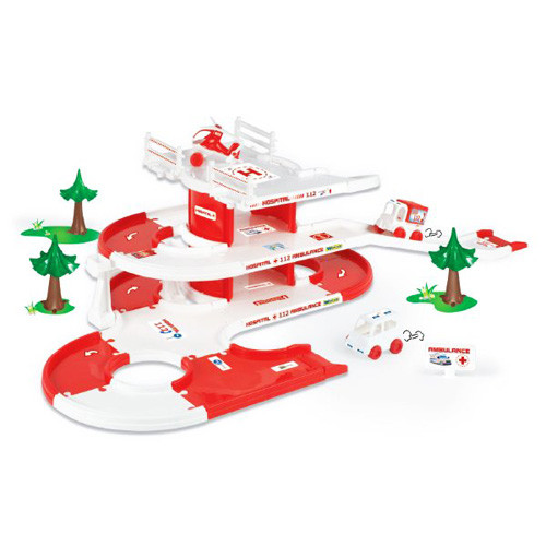 Детский игровой набор скорая помощь Kid Cars 3D Wader