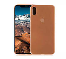 Ультратонкий оранжевый надежный чехол для вашего iPhone X