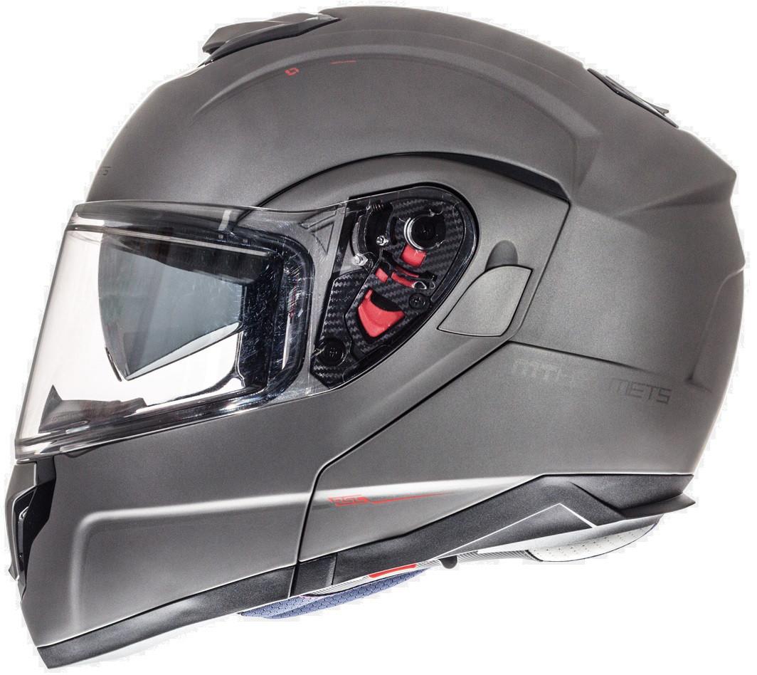 """Шлем MT ATOM SV matt titanium """"L"""", арт. 10520006"""