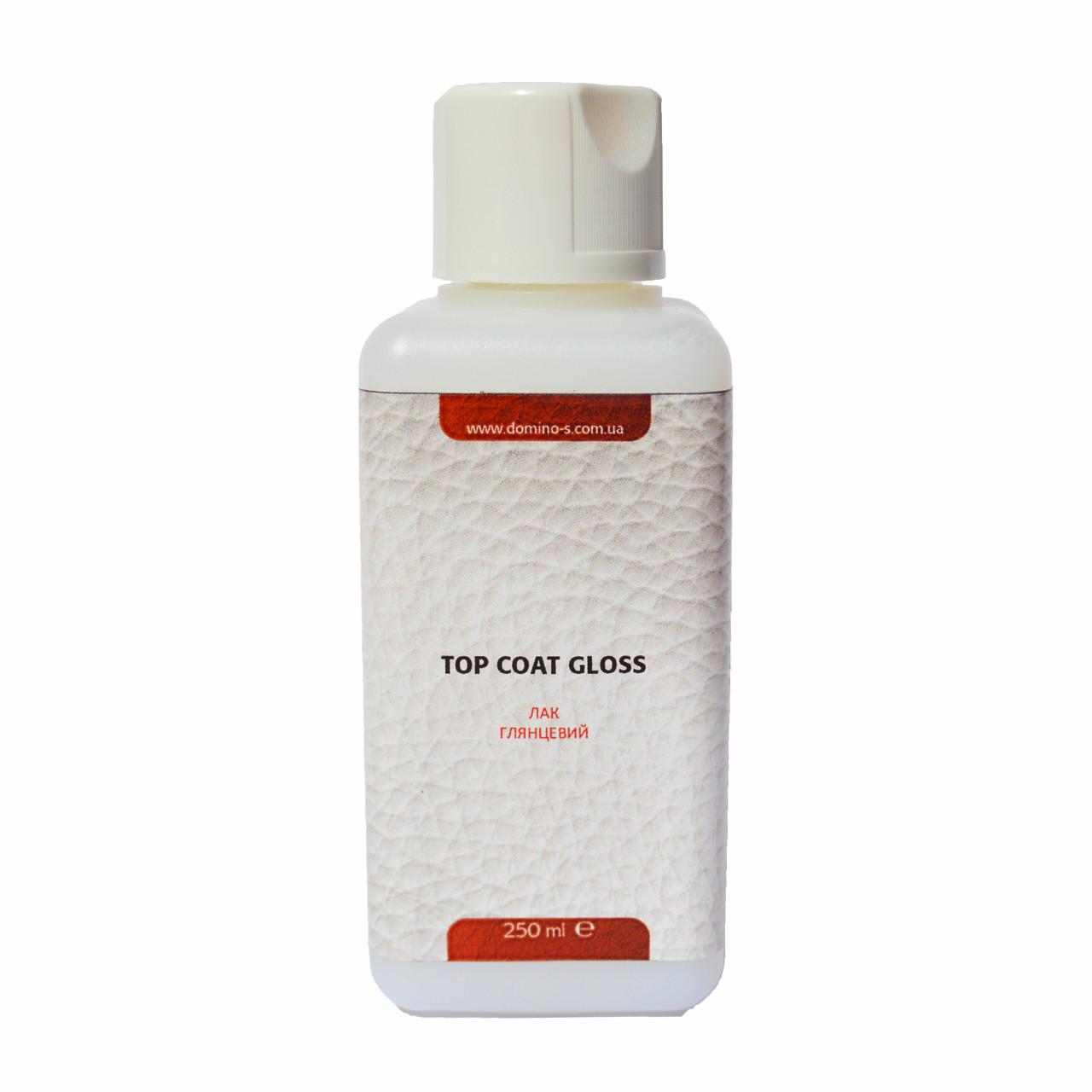 Лак для шкіри Top Coat Gloss, 250 мл