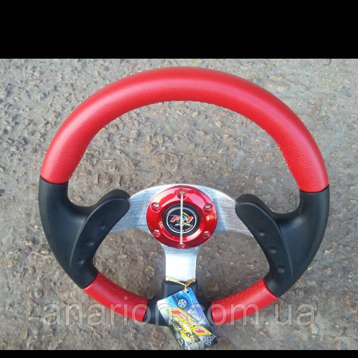 Руль Momo №579 (красный).