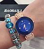 Женские металлические часы Baosali Quartz, фото 2