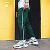 Спортивные штаны с полосой мужские ТУР Cage, зеленые