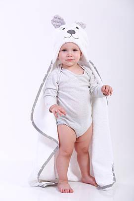 Полотенце для купания мишка детское