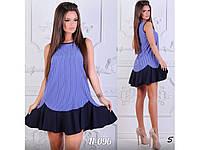 Свободное летнее платье в полоску 31148, фото 1