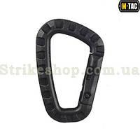Карабін пластиковий М-Тас Black 8,5 СМ, фото 1