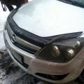 Дефлектор капота, мухобойка Opel Astra H 2004-> VIP