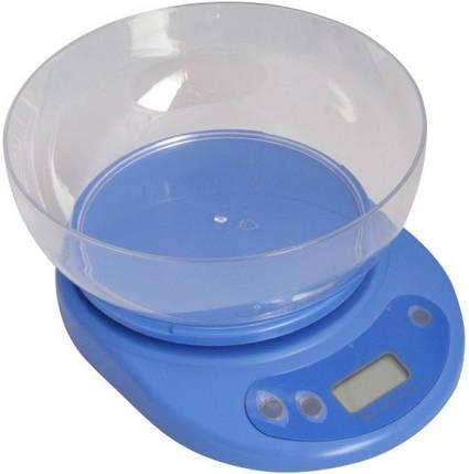 Весы кухонные электронные с чашкой, фото 2