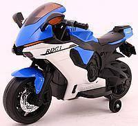 Детский электрический спортивный мотоцикл TR1603 копия Yamaha R1 Польша. Н.