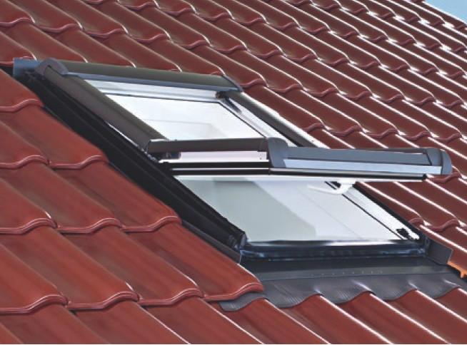 Мансардне вікно Roto Designo R45 (дерев'яне) 114х140 см