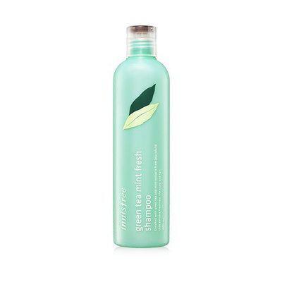 Освежающий шампунь для жирных волос Innisfree New Green Tea Mint Fresh Shampoo