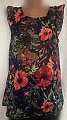 Женская блуза - туника Tom Tailor, шифон, размер M/L