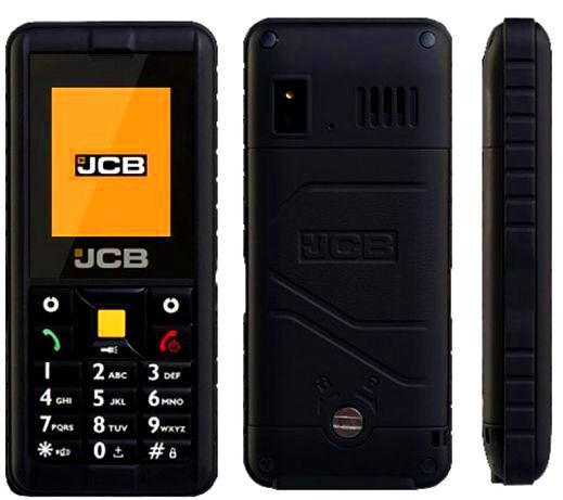 Протиударний Телефон JCB Black
