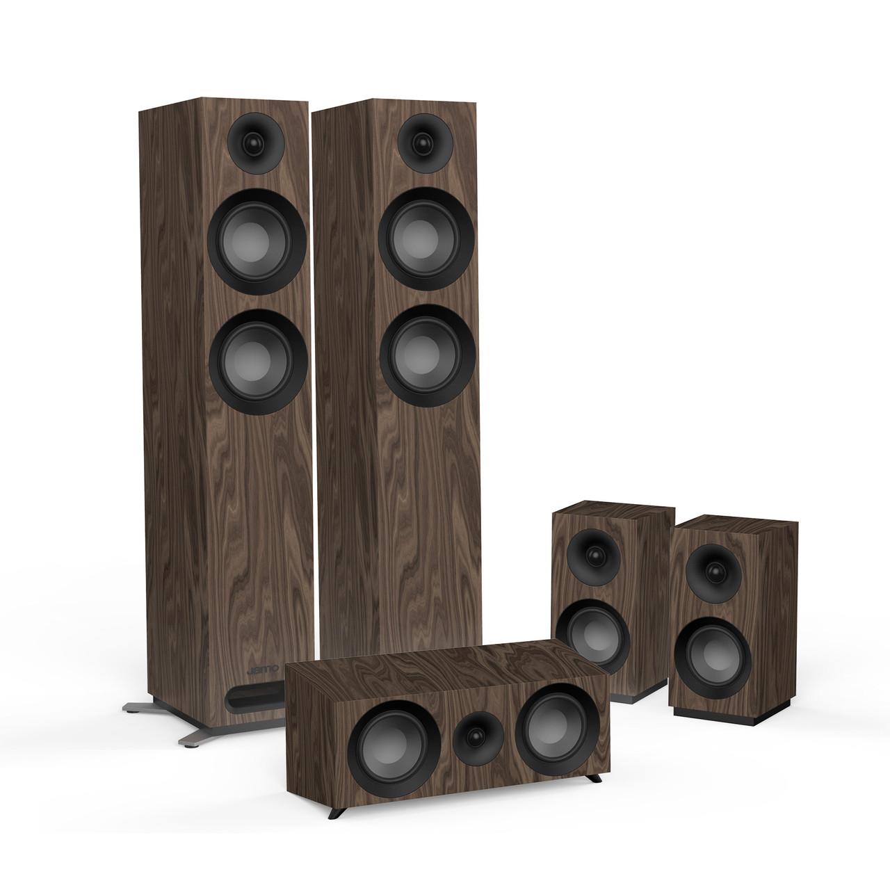 Комплект акустических систем 5.0 Jamo S 807 HCS Walnut