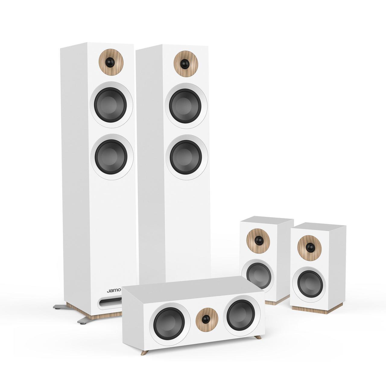 Комплект акустических систем 5.0 Jamo S 807 HCS White