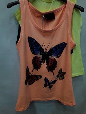 Майка турция бабочка с камнями, фото 2