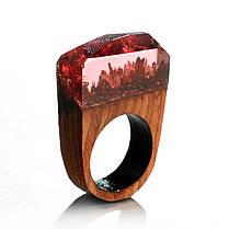 Кольца дерево - 4 цвета, фото 3