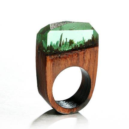 Кольца дерево - 4 цвета, фото 2