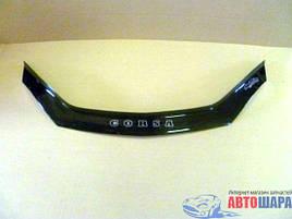 Дефлектор капота, мухобойка Opel Corsa c 1993-2000 г.в.. VIP