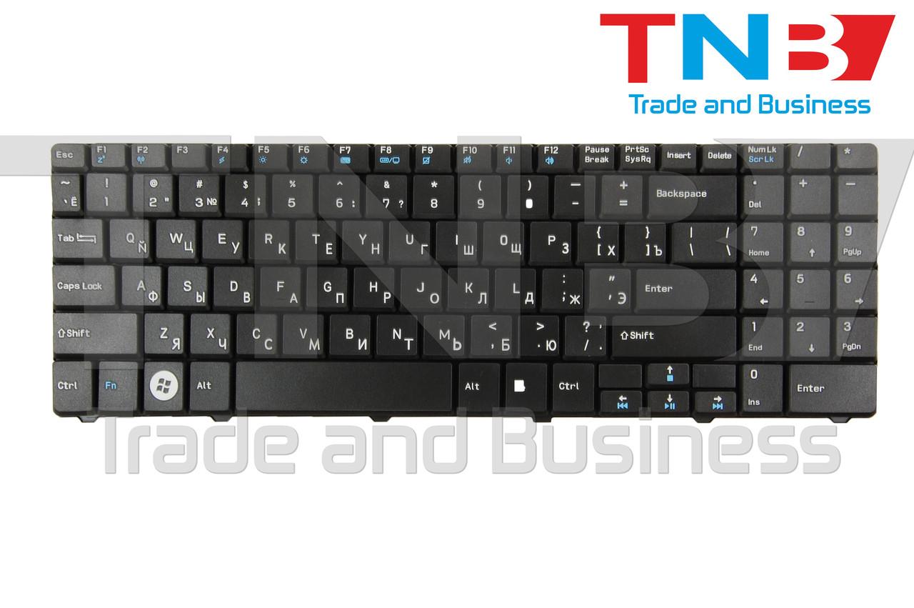 Клавиатура MSI MegaBook CR640 CX640 Medion Akoya E6217 E6221 E6227 E7219 E7220 E7200  черная RUUS Тип1
