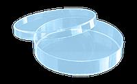 Чашка Петри 90мм, три вентиляционных отверстия, полистирол, нестерильная