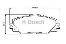 Колодка торм. диск. TOYOTA RAV 4 передн. (пр-во Bosch), фото 2