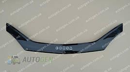 Дефлектор капота, мухобойка Opel Corsa C 2000-> VIP