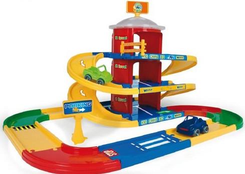 Kid Cars 3D детский паркинг 3 этажа с дорогой 4.6 м Wader