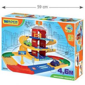 Kid Cars 3D детский паркинг 3 этажа с дорогой 4.6 м Wader, фото 2