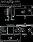 5317207 Фальцева клема для круглих провідників Rd 8-10, до 10 мм, 270 8-10 FT OBO bettermann, фото 2