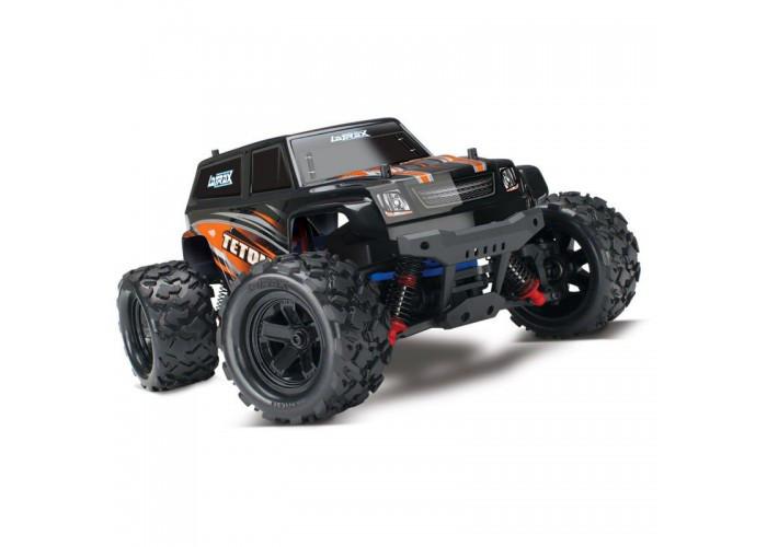Автомобиль Traxxas LaTrax Teton Monster 1:18 RTR 258 мм 4WD 2,4 ГГц (76054-5 Orange)