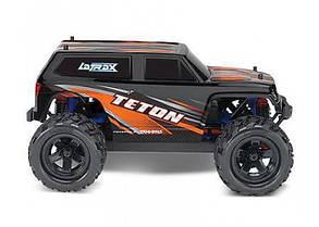 Автомобиль Traxxas LaTrax Teton Monster 1:18 RTR 258 мм 4WD 2,4 ГГц (76054-5 Orange), фото 2