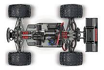 Автомобиль Traxxas E-Revo Monster 1:16 RTR 328 мм 4WD 2,4 ГГц (71054-1 Silver), фото 2