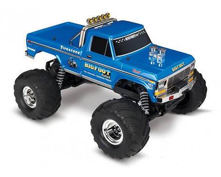 Автомобиль Traxxas BigFoot Monster 1:10 RTR 413 мм 2WD 2,4 ГГц (36034-1), фото 2