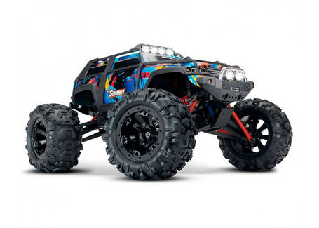 Автомобиль Traxxas Summit Monster 1:16 RTR 320 мм 4WD 2,4 ГГц (72054-5), фото 2