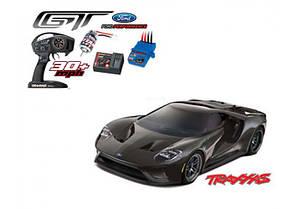 Автомобиль Traxxas Ford GT 4-Tec 2.0 1:10 RTR 448 мм 4WD 2,4 ГГц (83056-4 Black), фото 2