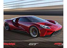 Автомобиль Traxxas Ford GT 4-Tec 2.0 1:10 RTR 448 мм 4WD 2,4 ГГц (83056-4 Red), фото 3