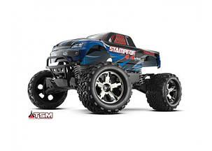 Автомобиль Traxxas Stampede Brushless Monster 1:10 ARTR 500 мм 4WD TSM 2,4 ГГц (67086-4 Blue), фото 2