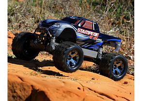Автомобиль Traxxas Stampede Brushless Monster 1:10 ARTR 500 мм 4WD TSM 2,4 ГГц (67086-4 Blue), фото 3