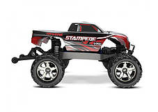 Автомобиль Traxxas Stampede Brushless Monster 1:10 ARTR 500 мм 4WD TSM 2,4 ГГц (67086-4 Red), фото 3
