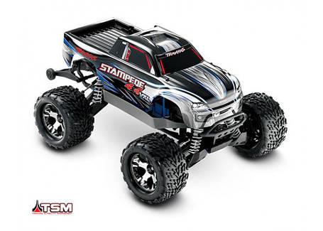 Автомобиль Traxxas Stampede Brushless Monster 1:10 ARTR 500 мм 4WD TSM 2,4 ГГц (67086-4 Silver), фото 2